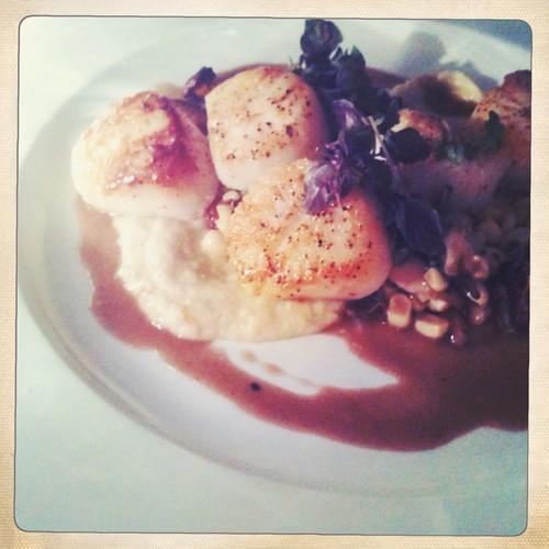 Scallop Dish from Pub & Kitchen, Philadelphia. Num Num Num.