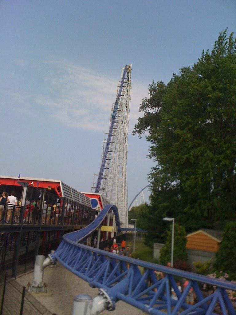 320 feet up