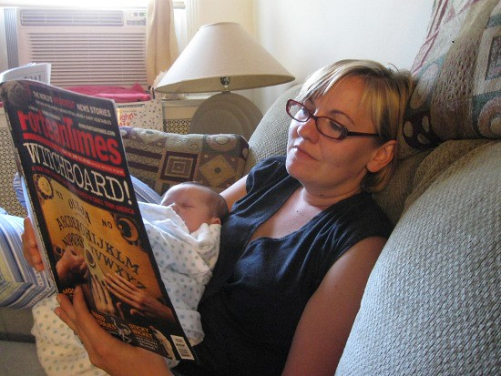 Sister Reading with KFP
