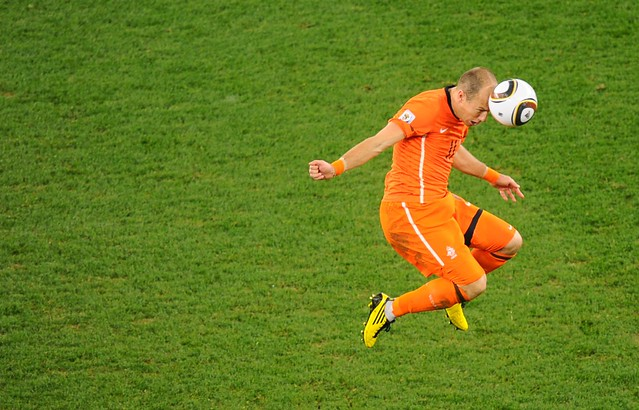Holland Uruguay World Cup Arjen Robben