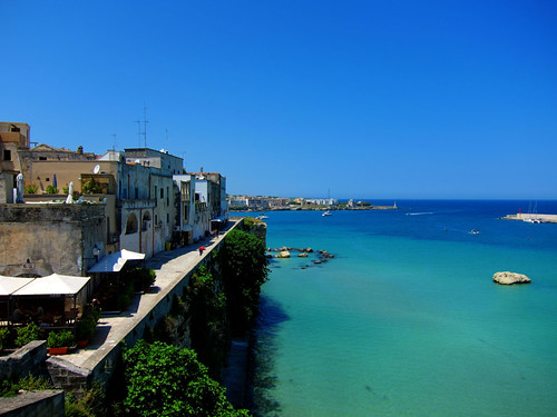 Old Town of Otranto and the Adriatic Sea
