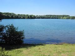 Grötzinger Baggersee im Juli