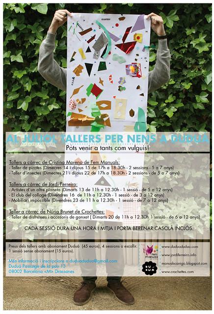 ¡En julio talleres para niños en Duduá!