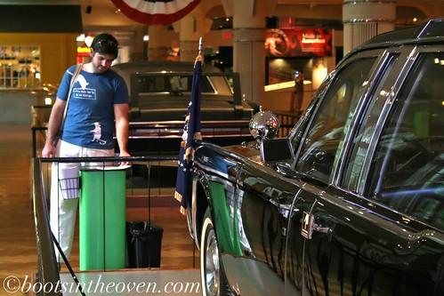 Logan and JFK's Car