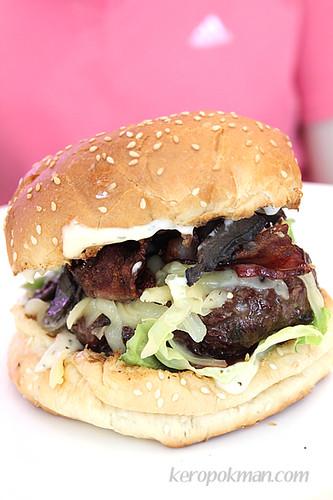 Swiss Portobello Burger
