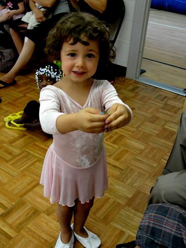 first tap/ballet class