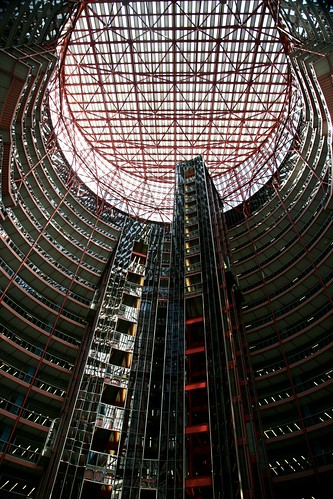 Chicago (ILL) Downtown, James R. Thompson Center JRTC, 1985