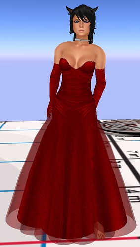 55L <br />Thursday SLC Gown Calarana red July 8 2010