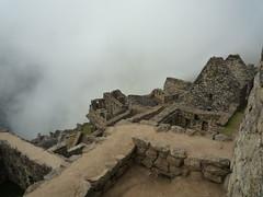 Machu Picchu im Morgennebel