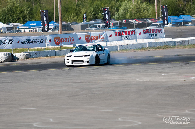 Formula D Throwdown and Evergreen Drift Pro-Am Practice 9