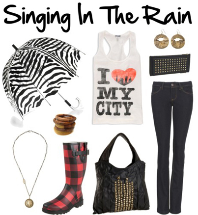 Polyvore: Singing In The Rain