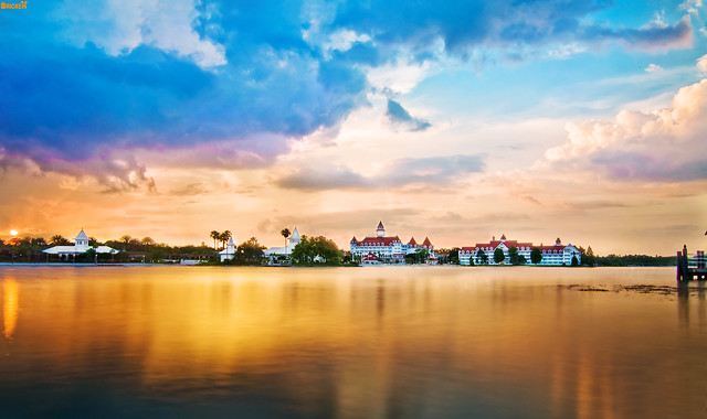 Grand Floridian Sunset