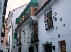 Am Platz de St. Nicolas, Granada, Andalusien