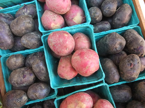 Red and Blue Potatoes