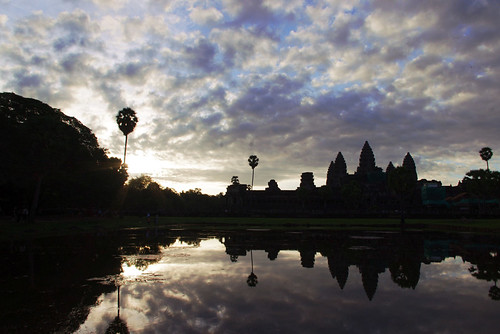 Breaking Dawn at Angkor Wat