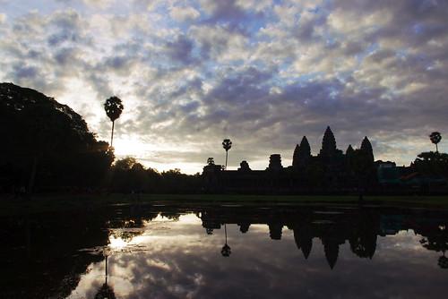 Breaking Dawn at Angkor Wat