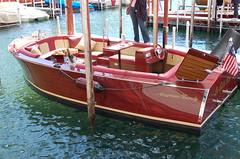 Electric and fiberglas (lee.hanson96158) Tags: woodboat woodboatshow