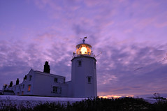 The Lizard Lighthouse, Cornwall, England (iancowe) Tags: england lighthouse house english night point evening twilight cornwall lizard trinity peninsula trinityhouse cornish wbnawgbeng