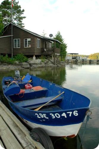 Camp Wabikon: lake transport