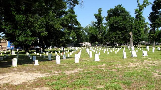 Confederate grave yard