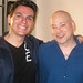 Evan Handler and Andres Useche