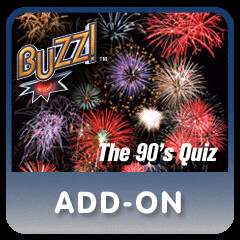 BUZZ!: The 90's Quiz Downloadable Quiz Pack for PS3