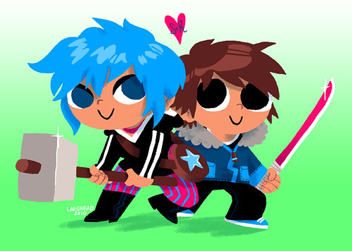 More Scott Pilgrim Fan Art