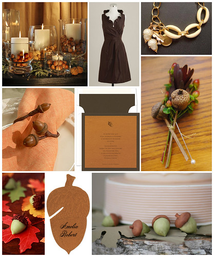 Acorn Themed Wedding