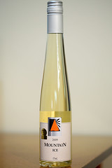 Mountain Ice 2009 Viognier/Chardonnay Icewine