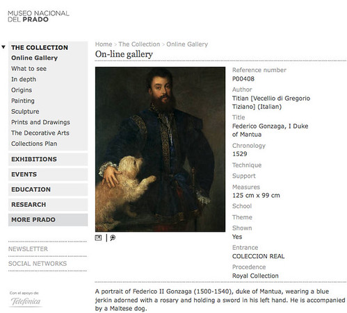 Screenshot, © Museo del Prado