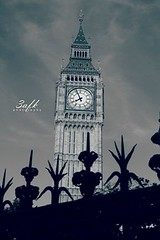 وصارت الــساعه ، امــــــاني (« 3 a F K » London!) Tags: london big ben alkhater 3afk
