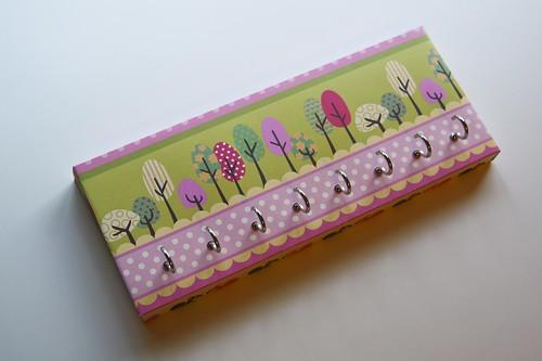papier crochet bois