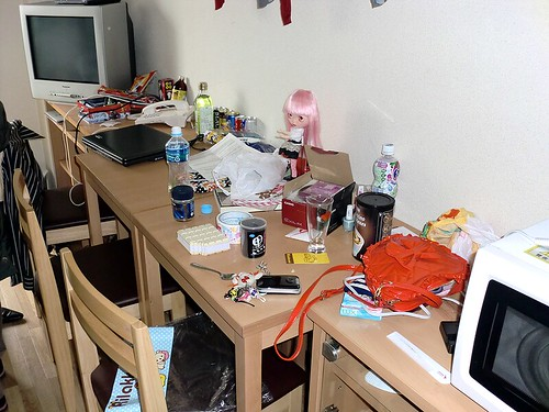 The mess in our room