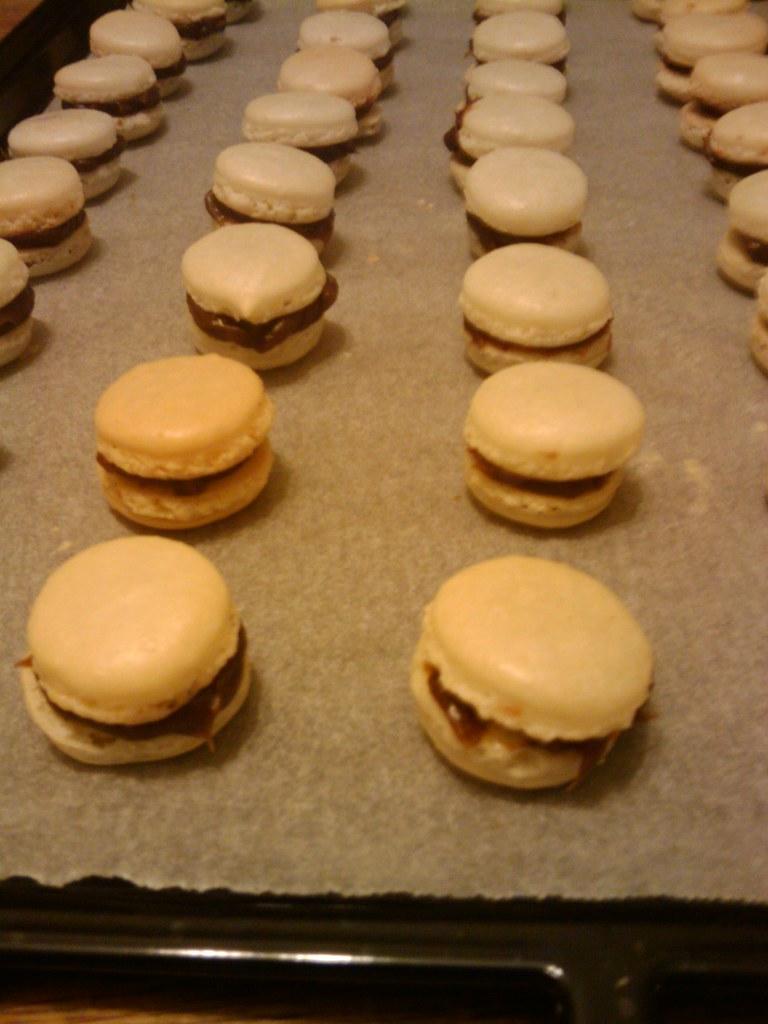 Chocolated Macarons - Close Up