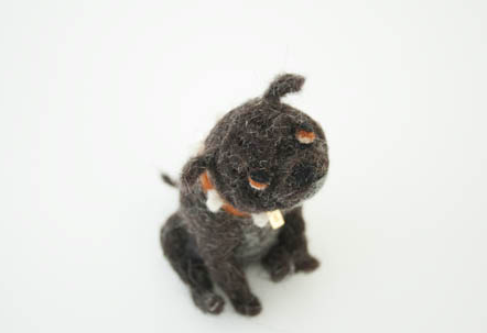 Domenica More Gordon's Felted Dogs-6