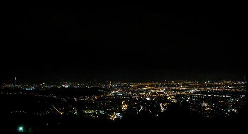 20100715 陽明山夜景看台北市區