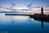 Blue Harbour (Azzmataz) Tags: sunrise hall d whitby a ©2010 anthonyhallphotographic ©2010adhall