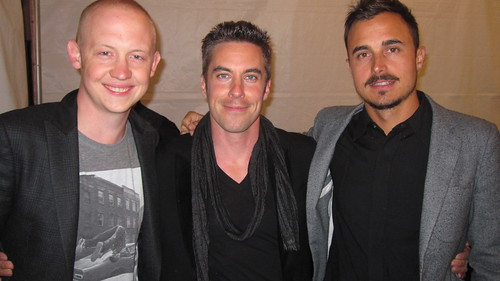 After performing with the Fray
