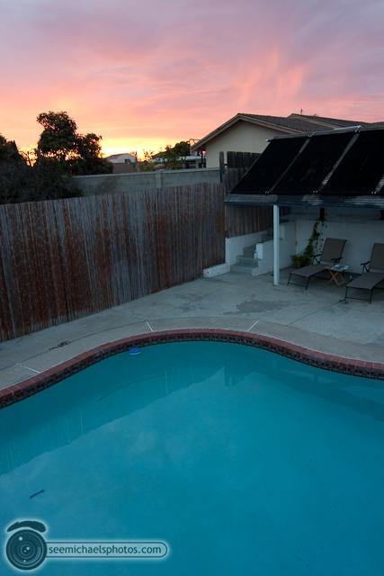 Backyard Sunset 71510 © Michael Klayman-004