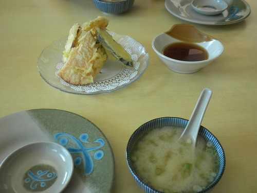 tempura and miso