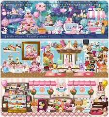 Pet Society: Tea Leaf's House (Happily Candied) Tags: game cute candy sweet application kawaii facebook tealeaf petsociety