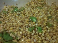 Corn cooking