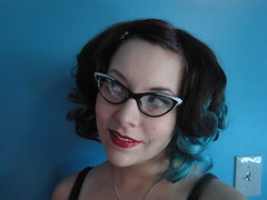 (kC Katastrophe) Tags: self curls redlipstick kc