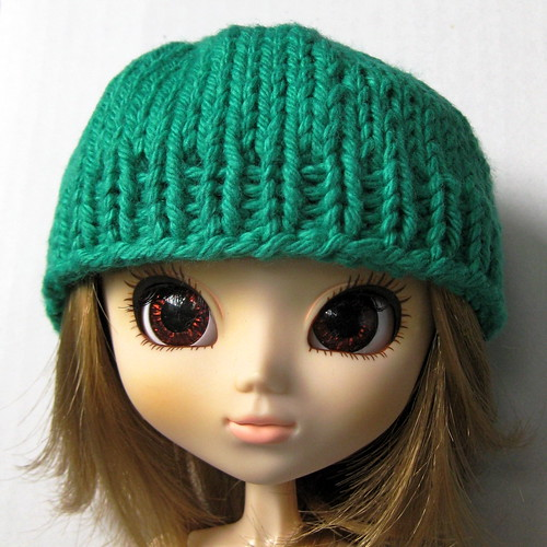 Easy Knitting Pattern For Toque : Basic Knit: Doll Hat Pattern   MK Carroll