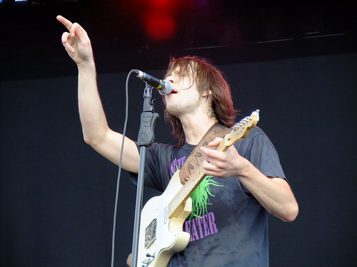 The Whigs at Ottawa Bluesfest 2010
