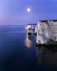 Moonlit Pinacles (peterspencer49) Tags: ocean uk longexposure england moon seascape southwest beach clouds bay coast chalk europe unitedkingdom cliffs unesco worldheritagesite dorset stunning moonlight coastline channel poole seaview coastalpath westcountry southwestcoast dorsetcoast southwestcoastalpath juassic chalkcliffs woldheritagesite stunningview seascene jurasiccoast cosatline oceanveiw cliffwalks peterspencer stunningseascape coastalledges h3d1139