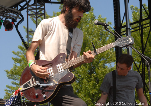 Titus Andronicus Pitchfork Music Festival by Colleen Catania