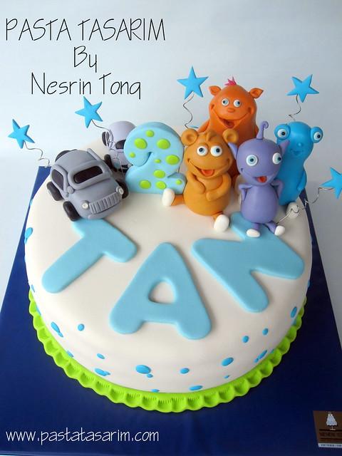 THE CUDLLIES BIRTHDAY CAKE - TAN