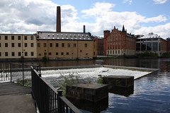 "Norrköping  Motala ström Industrilandskapet • <a style=""font-size:0.8em;"" href=""http://www.flickr.com/photos/23564737@N07/4808522142/"" target=""_blank"">View on Flickr</a>"