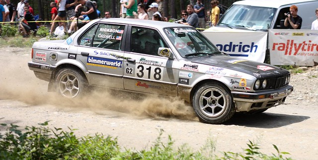 new england forest bill rally bmw 1991 318 318i caswell